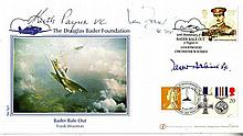 WW2 fighter aces 2001 Internetstamps Douglas Bader