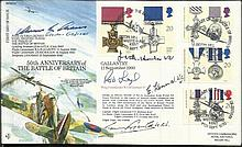 50th ann Battle of Britain Multisigned RFDC87