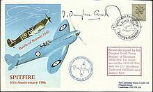 Ian Douglas Smith Spitfire pilot & former 237 Sqn