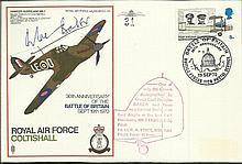 Grp Capt Douglas Bader Signed RAF Coltishall SC29