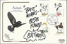 Bob Kane 1989 Seabirds Cotswold first day cover
