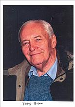 Tony Benn 12x8 colour laser photo of Tony Benn in