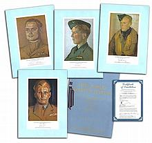 Rare WW2 signed prints The RAF Jubilee Limited