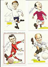 1966 World Cup Signed collection of Ten signed