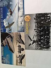 Aviation photos Three 10 x 8 colour montage