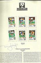 Footballer Tommy Wright collection of Westminster