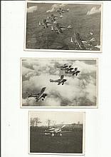 Vintage Aircraft original photos thirteen black