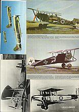 Aviation Postcards, photo collection 45 assorted