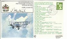 First Flights Series RAF flown covers 6 in total,