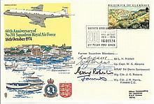 RAF VIP Signed Covers collection of ten flown