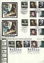 British Film Year Official Rare FDC collection.