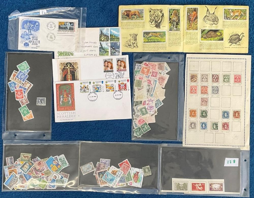 Assorted collection. Mainly consisting of stamps but the odd cover and cigarette card. Good