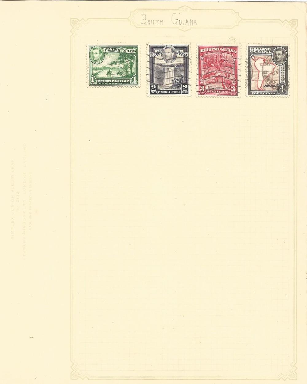 British Commonwealth, including Newfoundland, Cyprus, Gibraltar, Jamaica, Gold Coast, approx. 45.