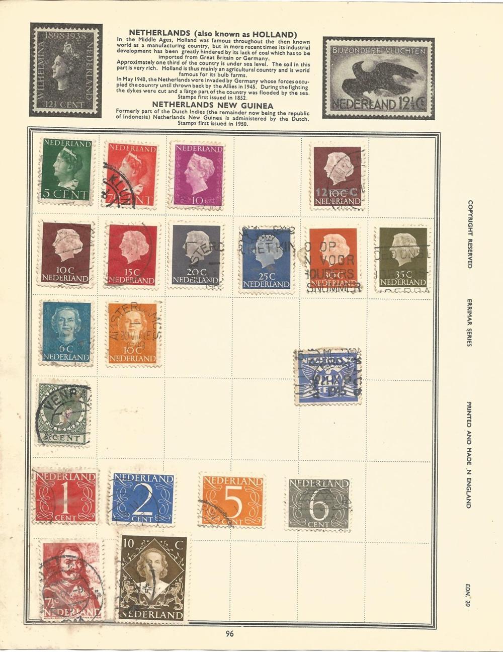 Europe, including Austria, Switzerland, Sweden, Spain, Norway, Monaco, stamps on loose album