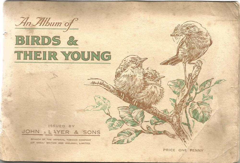 Player's Cigarette Cards, Birds and their Young album, 1937, 50 cards. Good condition. We combine