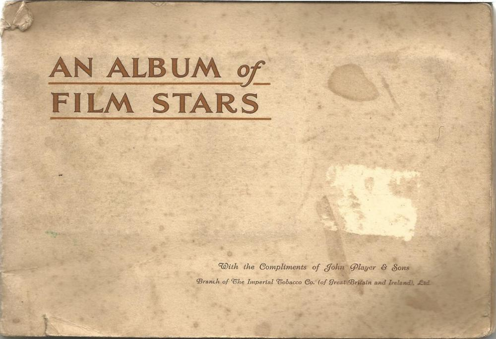 Player's Cigarette Cards, Film Stars Album, 50 cards. Good condition. We combine postage on multiple