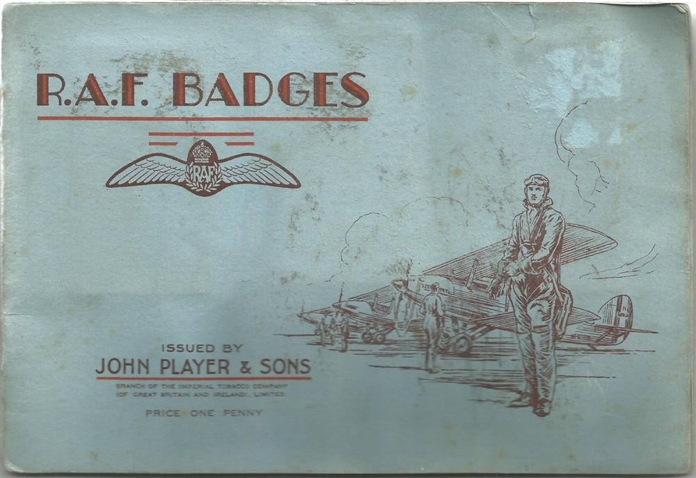 Player's Cigarette Cards, RAF Badges album, 1938, 50 cards. Good condition. We combine postage on