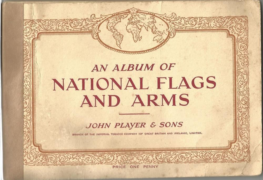 Player's Cigarettes Cards, Album of National Flags and Arms - 50 cards, Will's Cigarette Cards -
