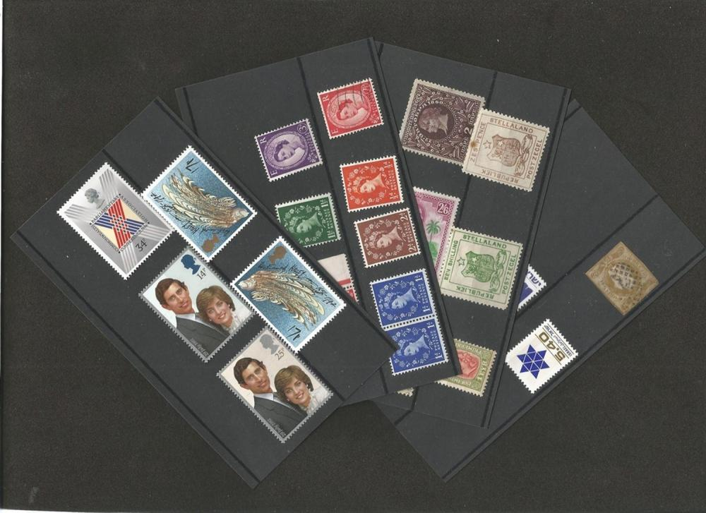 Odds and ends bundle including Germany 1930/1940, Portugal, Great Britain, Ukraine, Hong Kong and