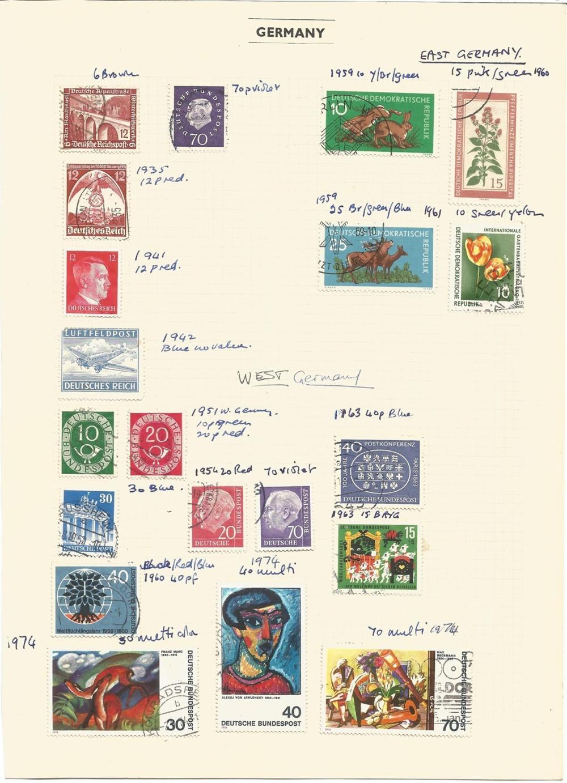 West Germany, German P.Os (China), German P.Os (Morocco), Saxony, Hanover, Tanganyika, Memel,
