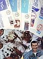 Space collection three 10 x 8 colour photos,