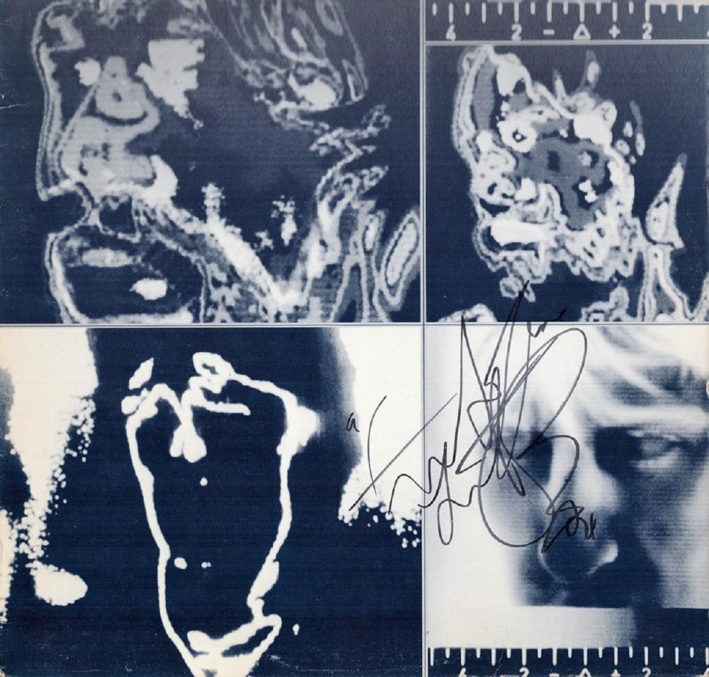 Charlie Watts signed The Rolling Stones Emotional Rescue Album Cover vinyl not included. Charles
