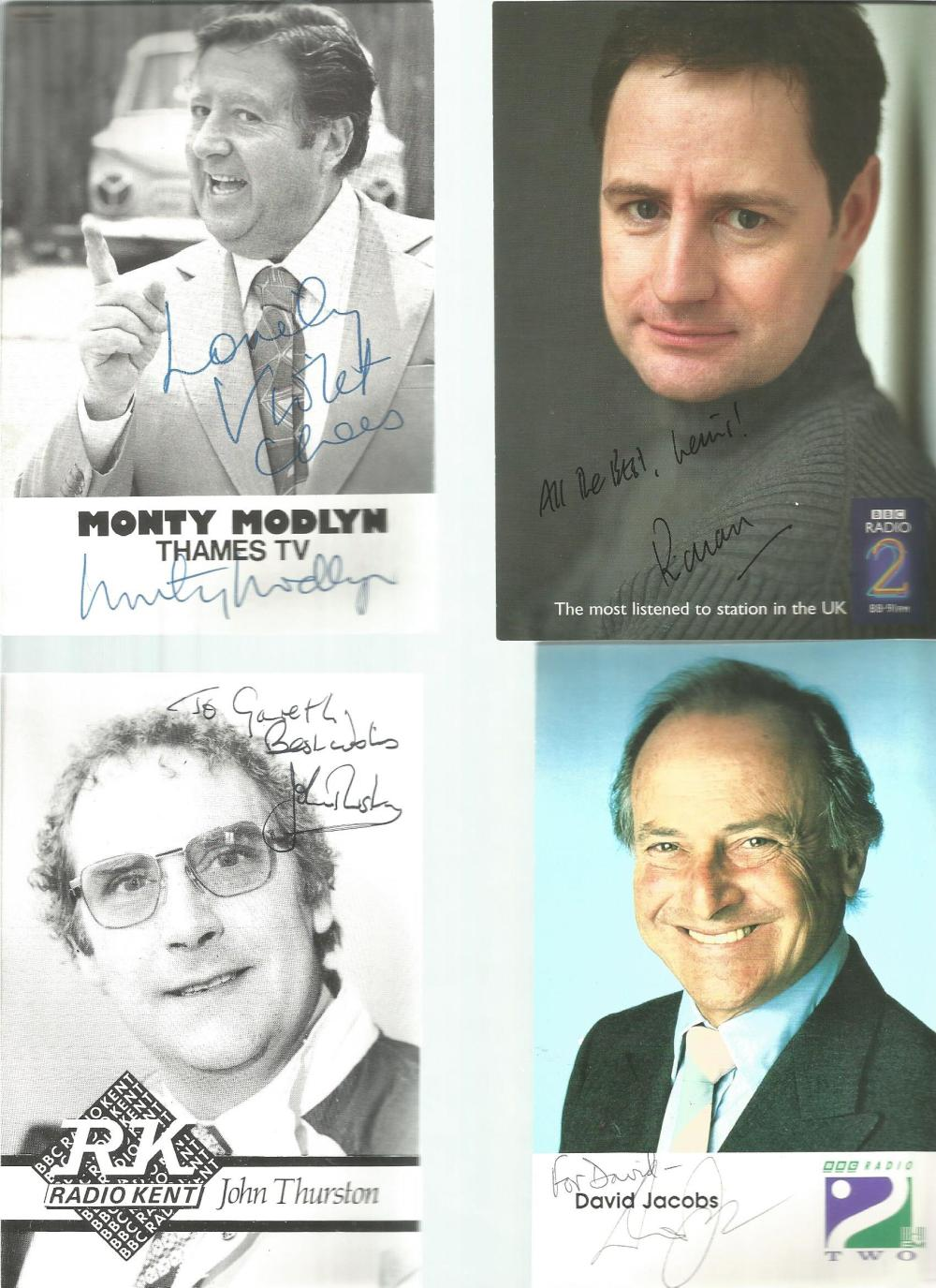 TV signed collection. 13 items mainly 6x4 photos. Some of names included are Monty Modlyn, John