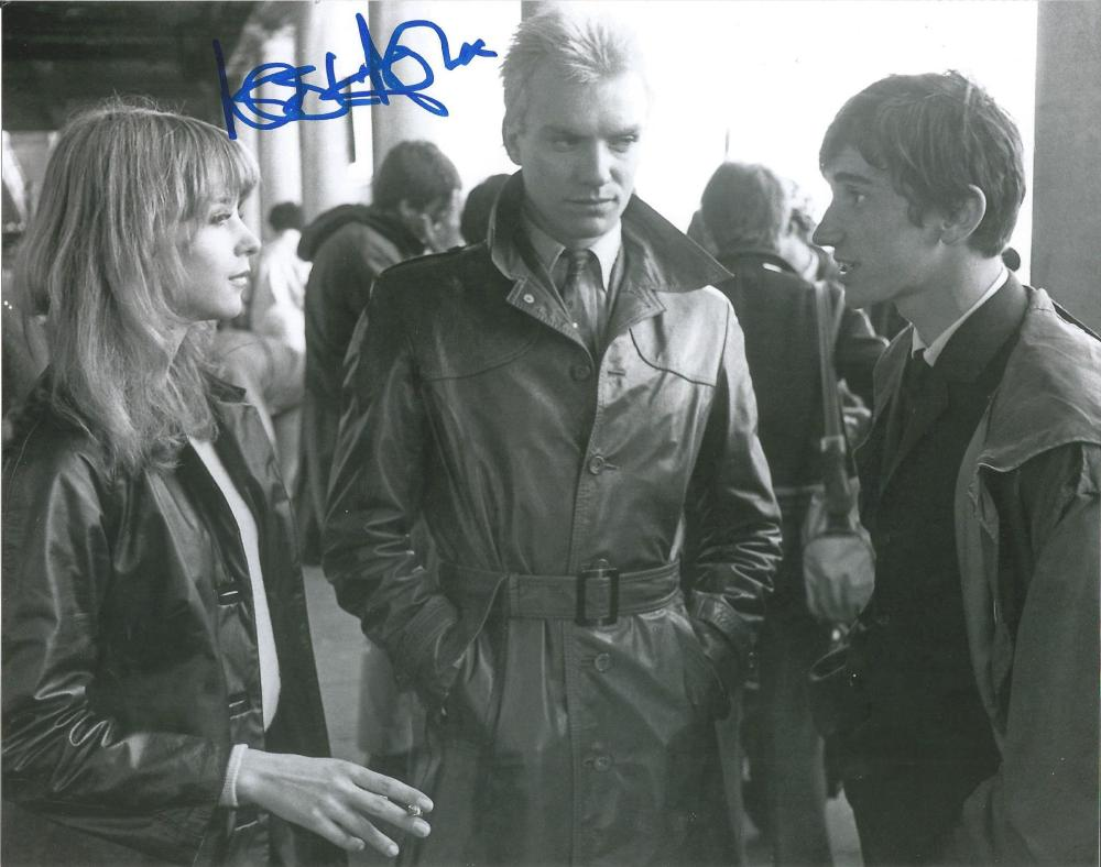 Leslie Ash Quadrophenia hand signed 10x8 photo. This beautiful hand signed photo depicts Leslie