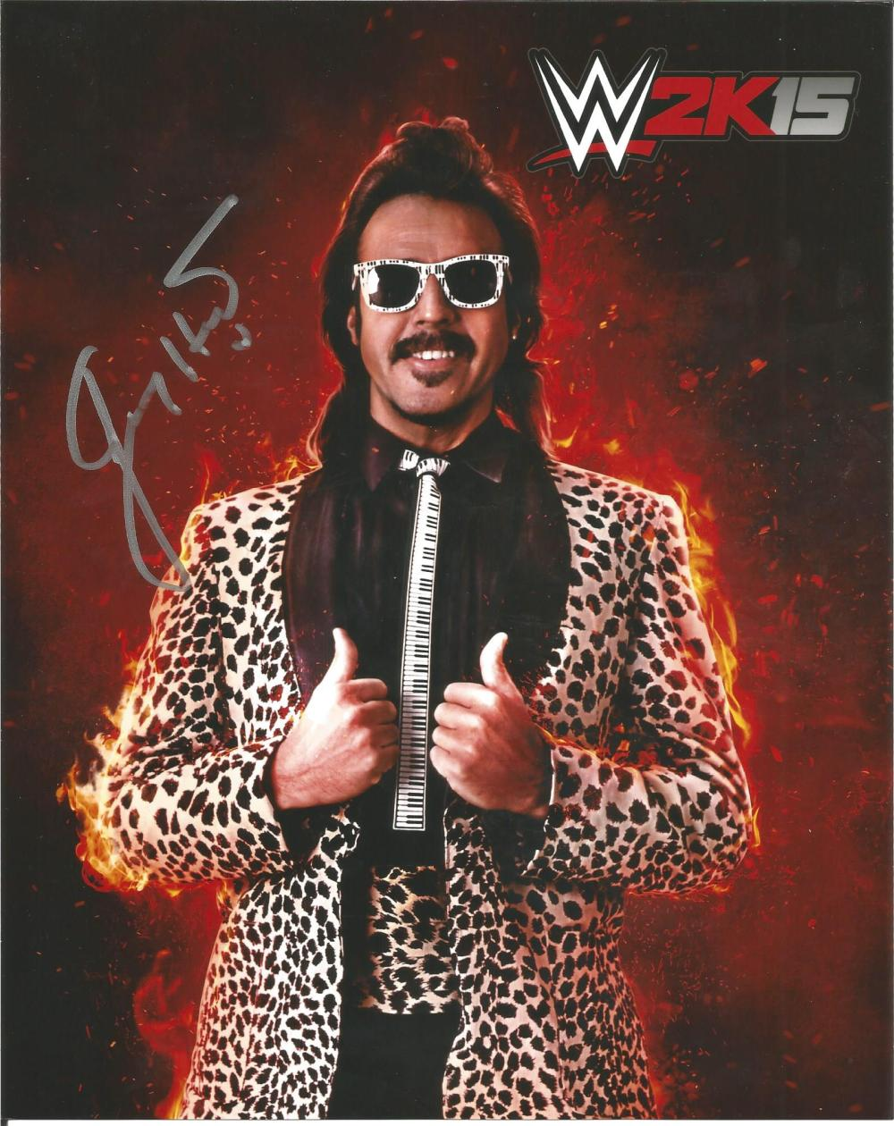 Lot of 3 WWF Wrestling hand signed 10x8 photos. This beautiful set of 3 hand-signed WWF Wrestling