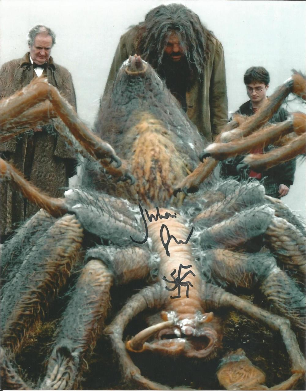 Julian Glover Harry Potter hand signed 10x8 photo. This beautiful hand signed photo depicts Julian