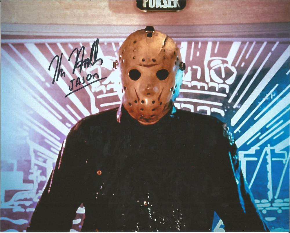 Kane Hodder Friday 13th hand signed 10x8 photo. This beautiful hand signed photo is signed by Kane