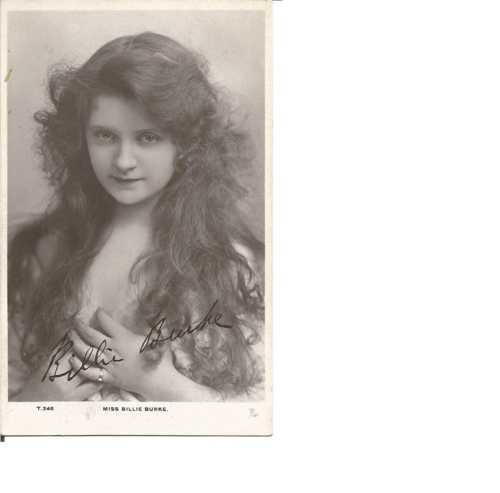 Billie Burke Glinda the Witch in Wizard of Oz signed 6 x 4 vintage photo. Comes with biography