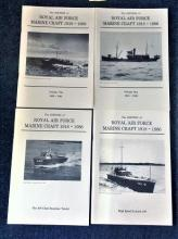 Royal Air Force Books. Collection of four soft back books The History of Royal air force marine