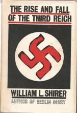 The Rise and Fall of the Third Reich by William L. Shirer unsigned hardback book. 1245 pages
