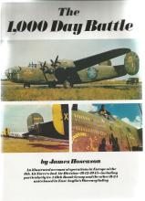 The 1, 000 Day Battle unsigned hardback book by James Hoseason. 256 pages. Good Condition. All