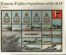 Famous Fighter Squadrons of the RAF Vol 1 unsigned hardback book by James J. Halley. 80 pages.