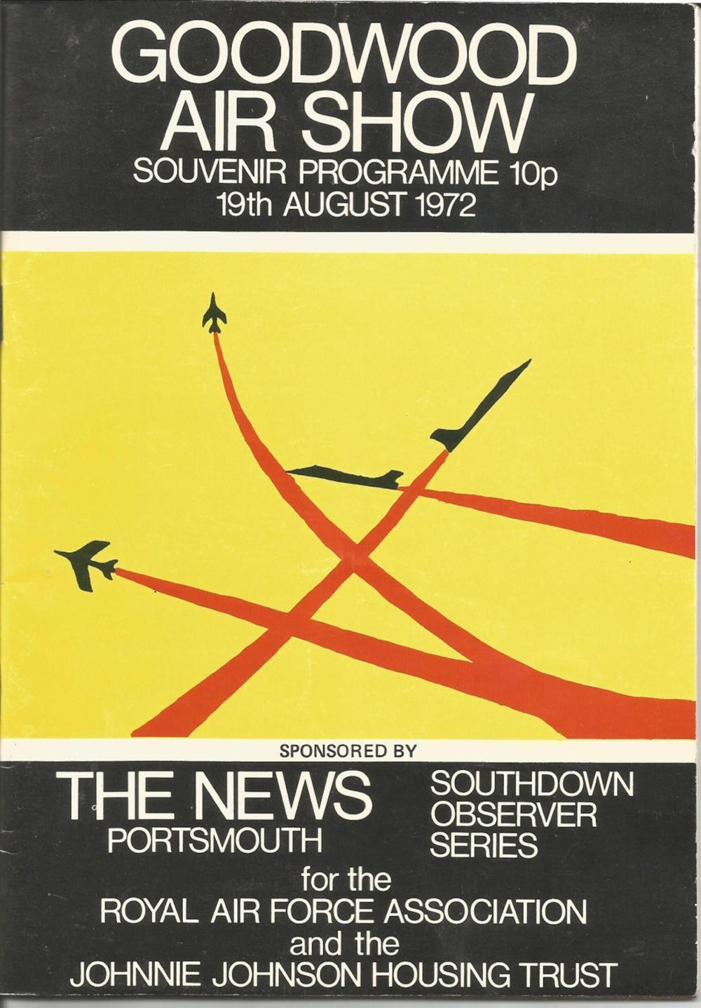 1972 Goodwood Airshow Souvenir Programme. Good condition Est.