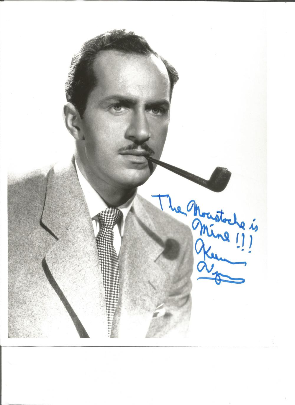 Keenan Wynn signed 10x8 b/w photo. July 27, 1916 – October 14, 1986 was an American character actor.