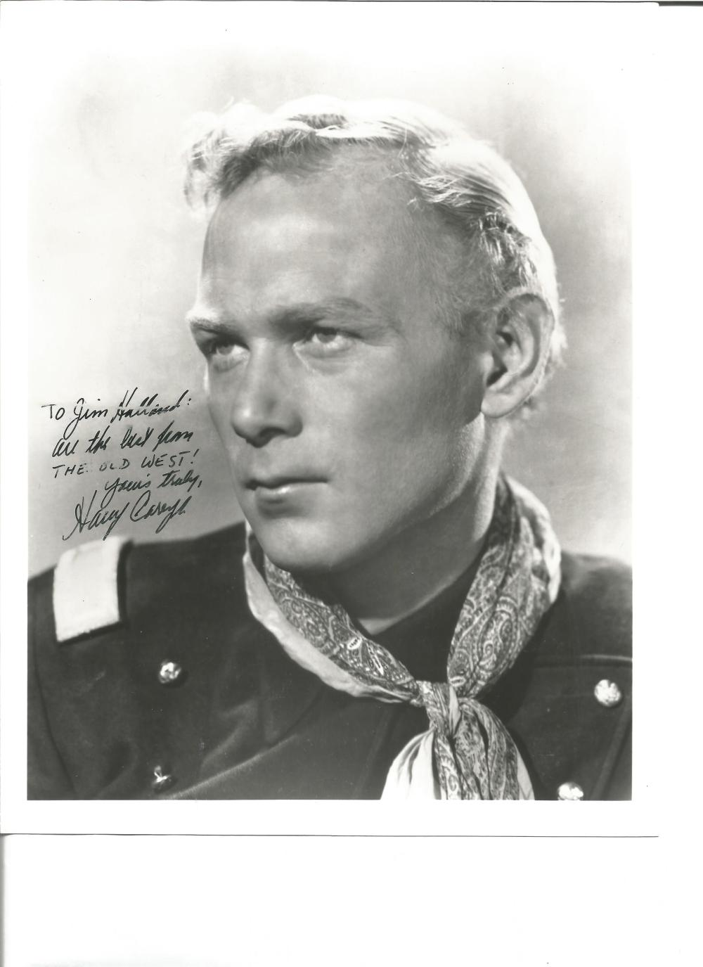 Harry Carey Jnr signed 10x8 b/w photo. May 16, 1921 – December 27, 2012 was an American actor. He