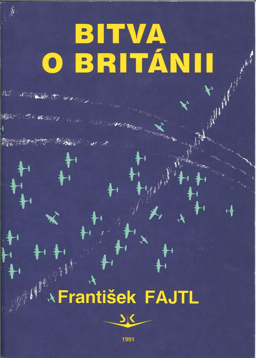 Polish Written Battle of Britain booklet produced by Frantisek Fajtl in excellent condition, 64