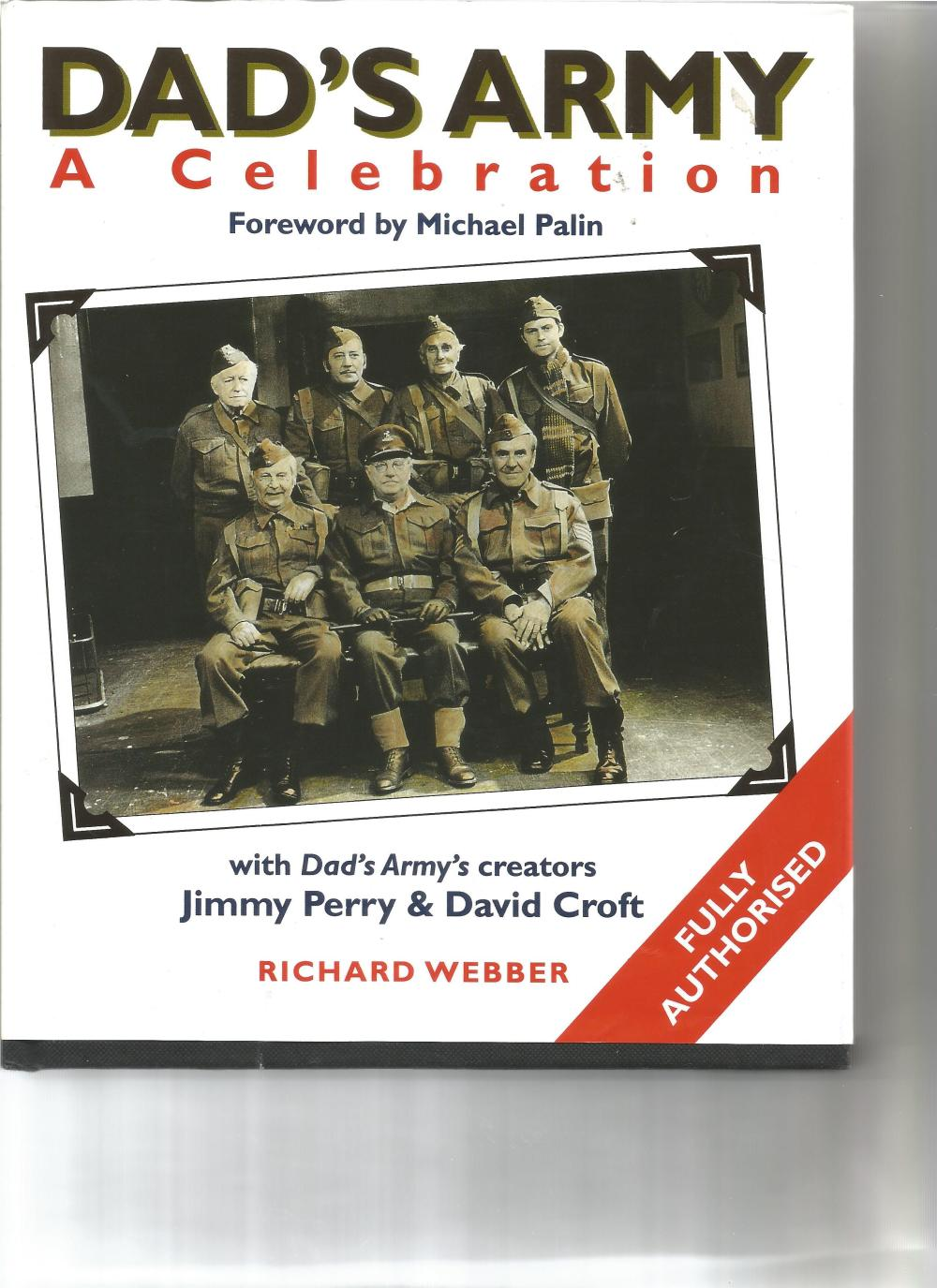 Clive Dunn, Ian Lavender, Bill Pertwee, Frank Williams and Colin Bean signed Dad's Army A