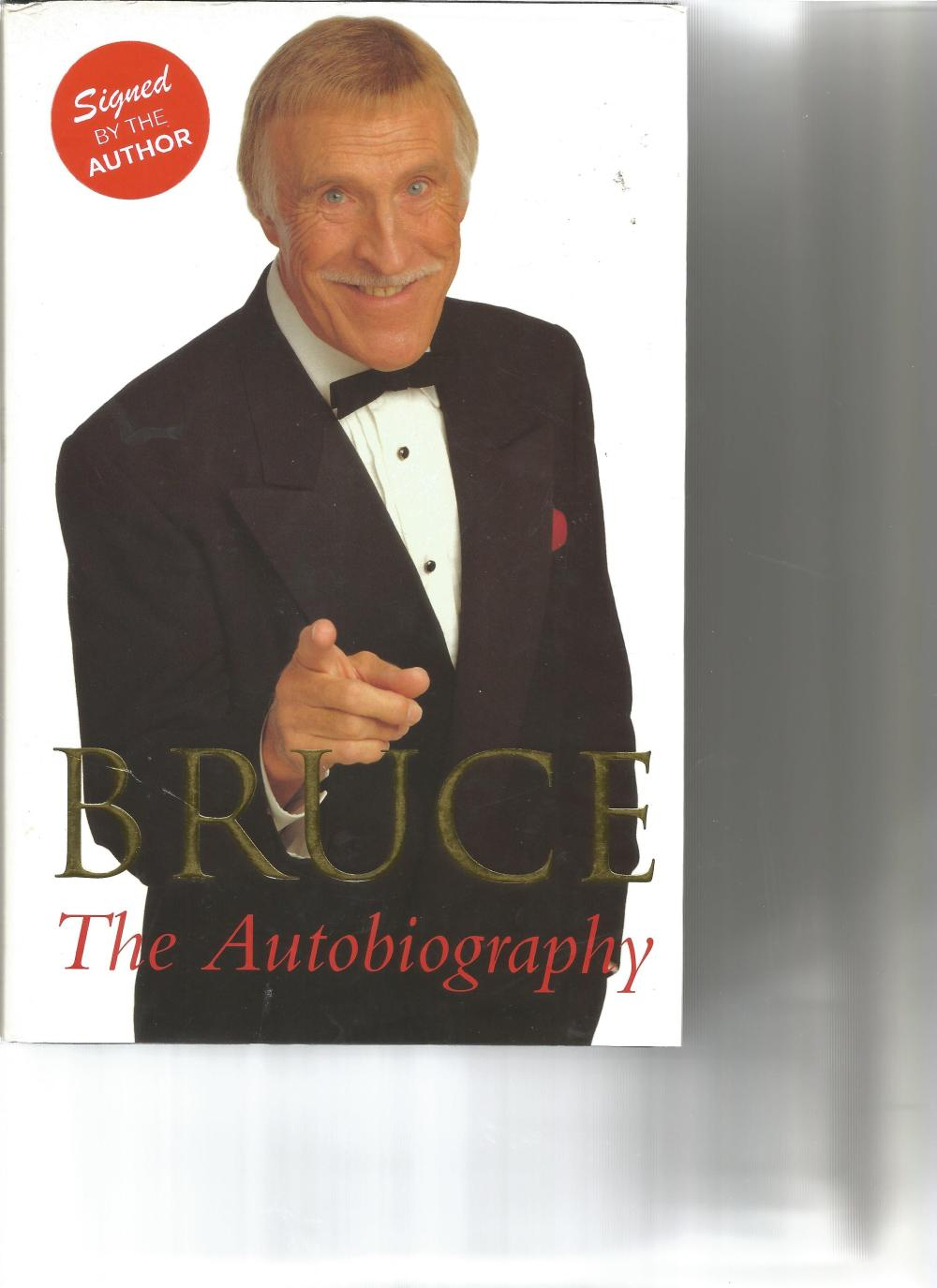 Bruce Forsyth signed Bruce - the autobiography hardback book. Signed on inside title page. Good