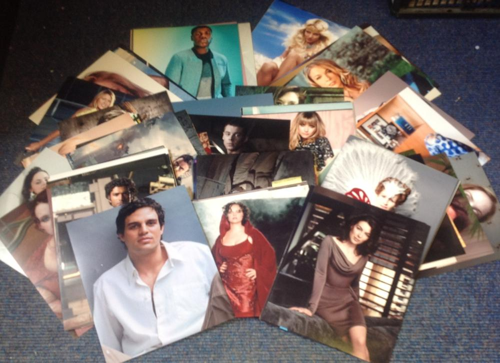 UNSIGNED 10x8 photo collection. In excess of 100 photos. Ideal to put with signature pieces. Good