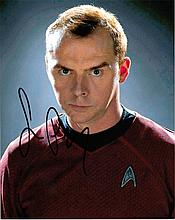Simon Pegg signed 8x10 C Photo Of Simon From Star