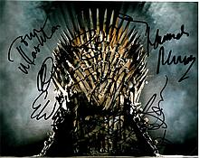 Game Of Thrones signed Cast Photo 10x8 Colour
