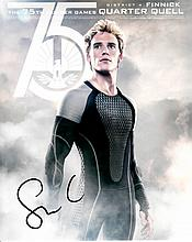 Sam Claflin signed 8x10 Colour Photo Of Sam From