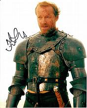 Iain Glen signed 8x10 Colour Photo Of Iain From