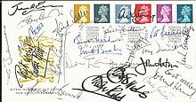 1968 Man Utd European Team signed FDC. 2000 GB