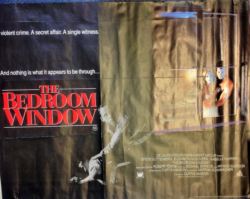 Sold Price The Bedroom Window 30x40 Movie Poster From The 1987 American Psychological Thriller Film Directed By June 5 0120 6 00 Pm Bst