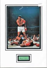 Muhammad Ali Boxing signed autograph presentation. High quality professionally mounted 16 x 11